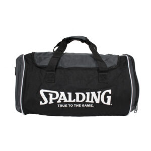 Spalding Tube Sportsbag Grey Vrijstaand