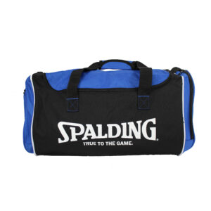 Spalding Tube Sportsbag Blue Vrijstaand